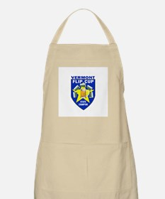 Vermont Flip Cup State Champi BBQ Apron