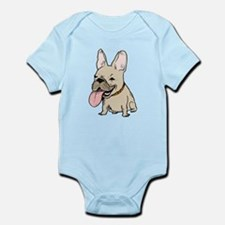Unique Cute bulldog Infant Bodysuit