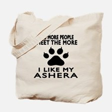 I Like My Ashera Cat Tote Bag