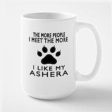 I Like My Ashera Cat Large Mug