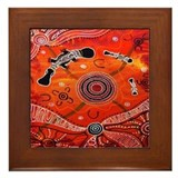 Aboriginal Framed Tiles