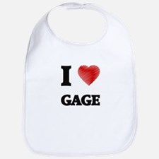 I love Gage Bib