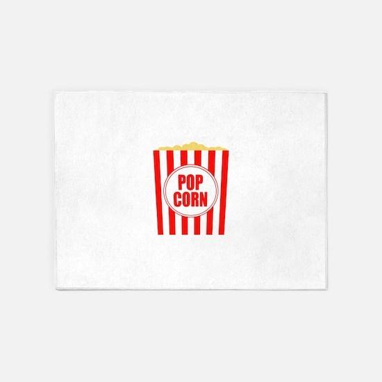 Movie Theater Popcorn 5'x7'Area Rug