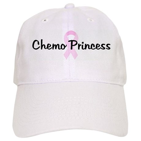 Chemo Princess pink ribbon Cap