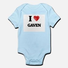 I love Gaven Body Suit