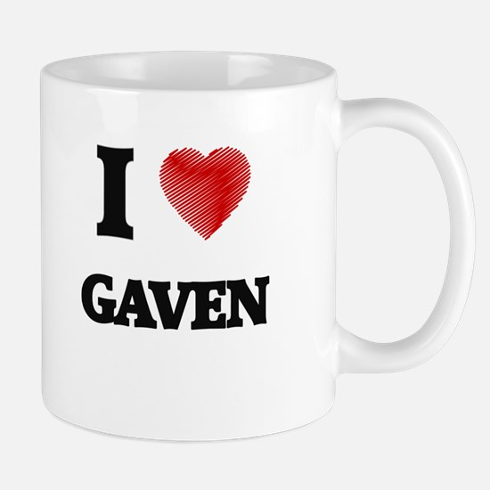 I love Gaven Mugs