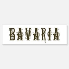 Bavaria Bumper Bumper Bumper Sticker