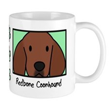 Anime Redbone Coonhound Mug