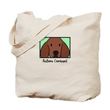 Anime Redbone Coonhound Tote Bag