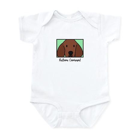 Anime Redbone Coonhound Baby Bodysuit