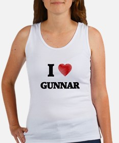 I love Gunnar Tank Top
