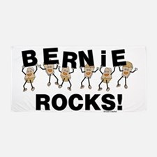 Bernie Rocks Beach Towel