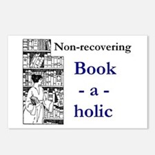 Non-recovering Book-a-hol Postcards (Package of 8)