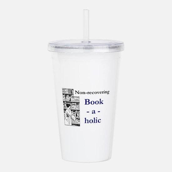 Non-recovering Book-a- Acrylic Double-wall Tumbler