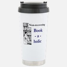 Non-recovering Book-a-h Stainless Steel Travel Mug