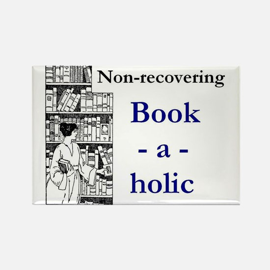 Non-recovering Book-a-holic Magnets