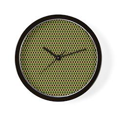 African Diamonds Wall Clock