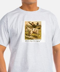 Equestrian Trainer - Who's in charge here, T-Shirt