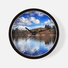 Lakeside Reflections Wall Clock