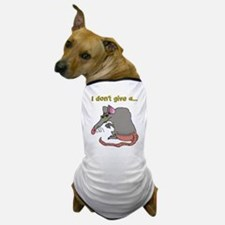I don't give a rat's... Dog T-Shirt