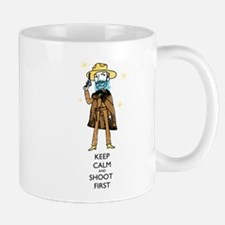 keep calm and shoot first Mugs
