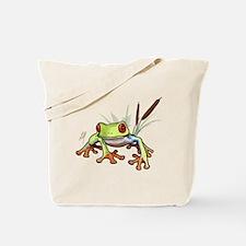 """Frog 1"" Tote Bag"