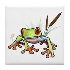 """""""Frog 1"""" Tile Coaster"""