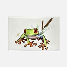 """""""Frog 1"""" Rectangle Magnet"""