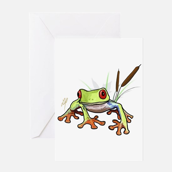 """Frog 1"" Greeting Card"