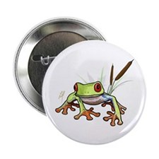 """""""Frog 1"""" 2.25"""" Button (100 pack)"""
