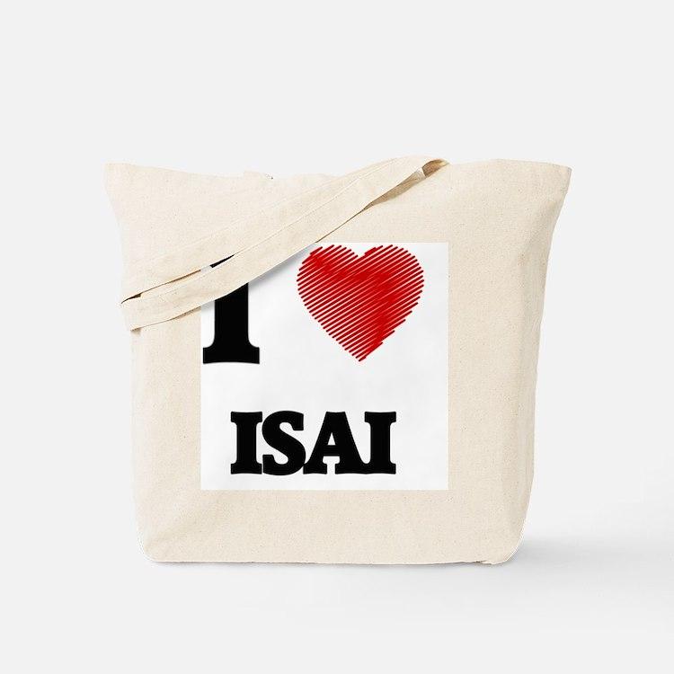 I love Isai Tote Bag