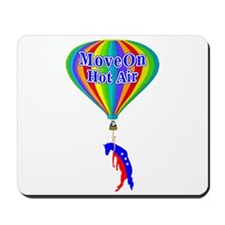 MoveOn.org Hot Air Parody Mousepad
