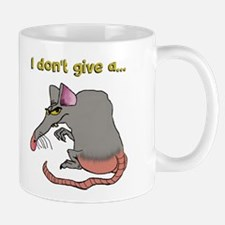 I don't give a rat's... Mugs