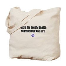 Chance to Remember the 60s Tote Bag