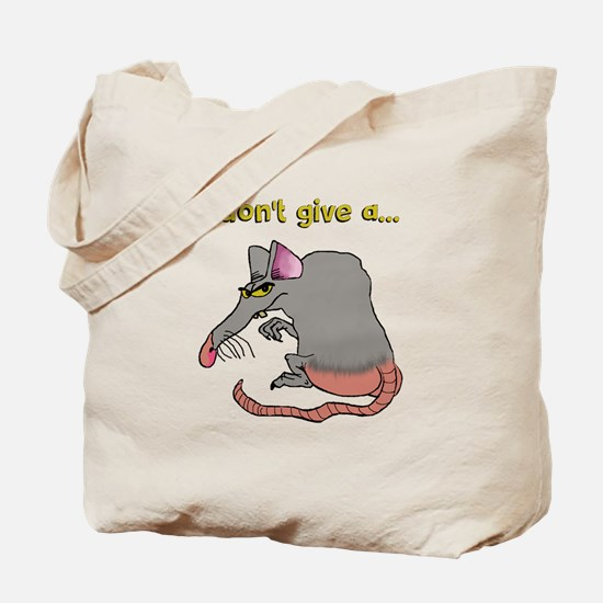 I don't give a rat's... Tote Bag