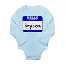 Cute Bryson Long Sleeve Infant Bodysuit