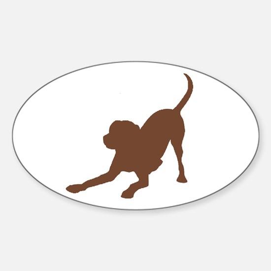 Lab 2 Brown Decal