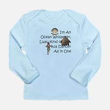 Hula Dancer Long Sleeve Infant T-Shirt