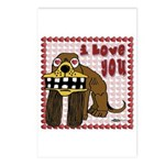 I Love You Dog Postcards (Package of 8)