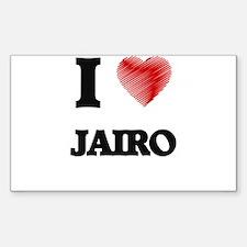 I love Jairo Decal