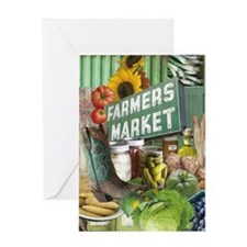 Farmers Market Greeting Cards