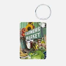Farmers Market Keychains