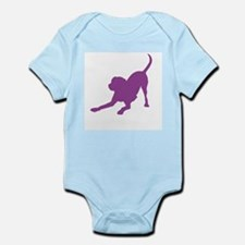 Lab 1 purple Body Suit