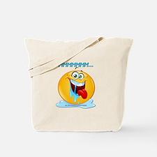 Unique Smiley face mens Tote Bag