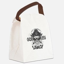 Cool Atheist hitch Canvas Lunch Bag