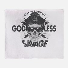 Cool Atheist hitch Throw Blanket