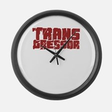 Funny Freethought Large Wall Clock