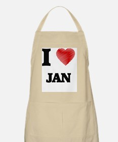 I love Jan Apron