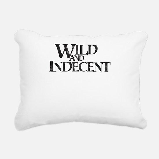 Funny Hitch Rectangular Canvas Pillow