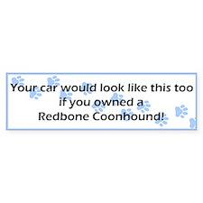 Your Car Redbone Coonhound Bumper Bumper Sticker